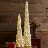 Bead & Pearl Lighted Tree (Large)