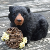 Black Bear with Bee Skep by Byers' Choice