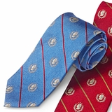 Blue Jefferson Silk Necktie