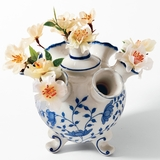 Blue Porcelain Tulipiere