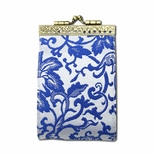 Blue & White Card Holder