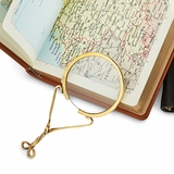 Brass 18th-Century Magnifier