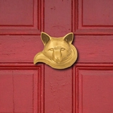 Brass Fox Door Knocker