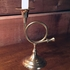 Brass French Horn Candlestick