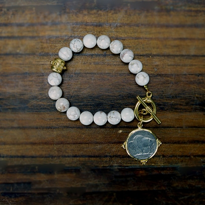 Buffalo Head Nickel Bracelet