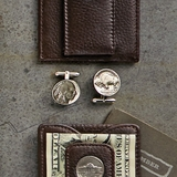 Buffalo Nickel Cufflink Set