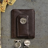 Buffalo Nickel Card Wallet and Money Clip