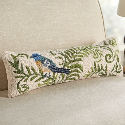 Bunting & Foliage Pillow