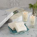 Carved Soaps and Votives Gift Set