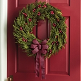 "Cedar Berry Wreath 22""D"