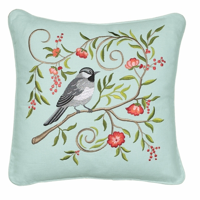 Chickadee Pillow