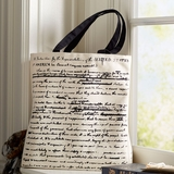 Monticello Declaration of Independence Canvas Tote