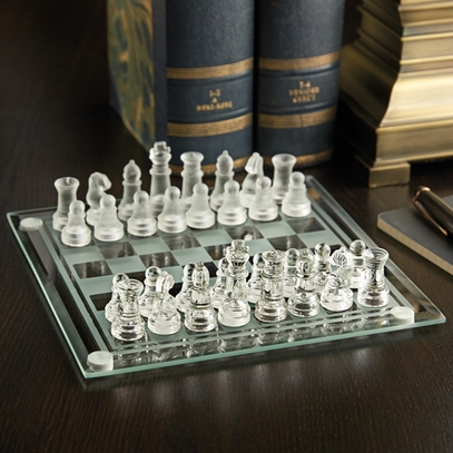 Acrylic Desktop Chess Set
