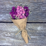 Dried Globe Amaranth Bouquet