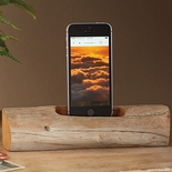 Driftwood iPhone Charging Stand