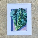 Early Curled Siberian Kale Notecard
