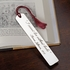 Engraved Pewter Bookmark
