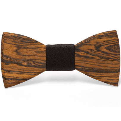 Formal Wooden Bow Tie