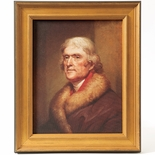 Thomas Jefferson Framed 1805 Portrait by Rembrandt Peale