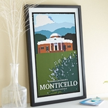 Monticello Framed Art