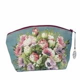 French Floral Cosmetic Bag