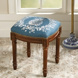 French Pineapple Crest Stool