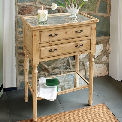 French-Style Side Table