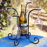 French Terrace Wine Caddy