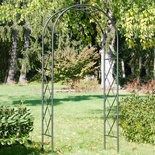 Fretwork Wrought Iron Arbor