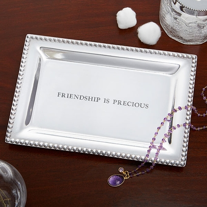 Friendship Quote Vanity Tray