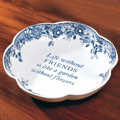 Garden Friendship Ring Tray