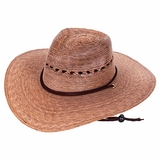 Garden Lattice Straw Hat (unisex)
