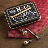 Gentleman's Hardware Cufflink & Tie Bar Set