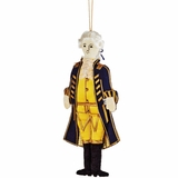 George Washington Embroidered Fabric Ornament