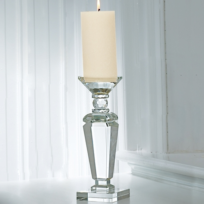 Glass Candle Holder (large)