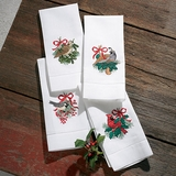 Holiday Bird Guest Towels
