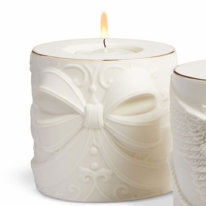 Holiday Bow Tealight Votive