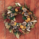 "Holiday Scented Wreath 21""D"
