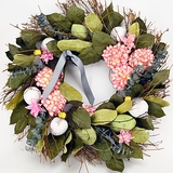 "Honeysuckle Vine Scented Wreath 22""D"