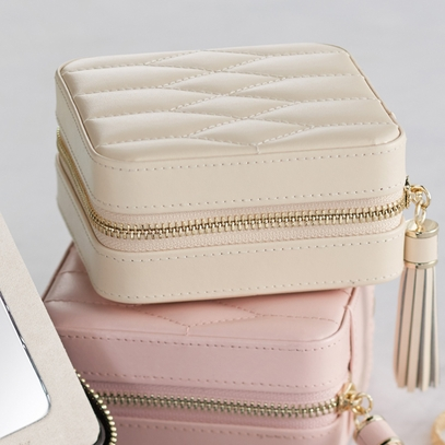 Ivory Travel Jewelry Wallet