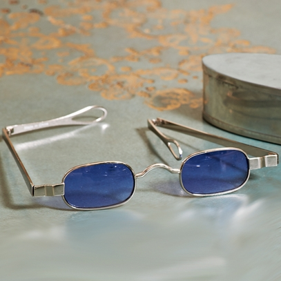 Jefferson's Rectangular Tinted Spectacles