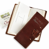 Jefferson Signature Leather Wine Log