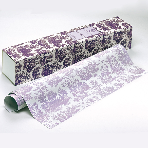 Toile Lavender Drawer Liners