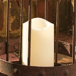 "LED Indoor/Outdoor Pillar Candle 3"" x 4"""
