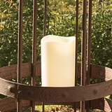 "LED Indoor/Outdoor Pillar Candle 3"" x 5"""