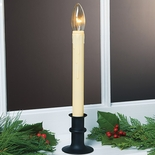 Black LED Window Candle