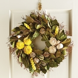 "Lemon Scented Wreath 22""D"