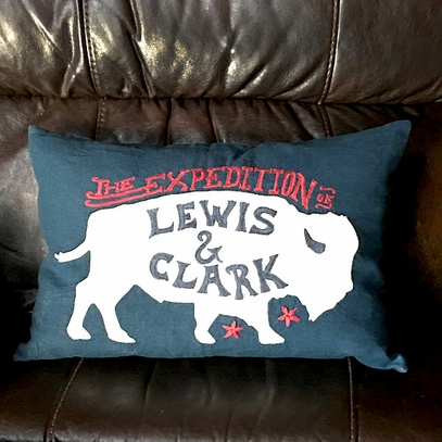 Lewis & Clark Expedition Pillow