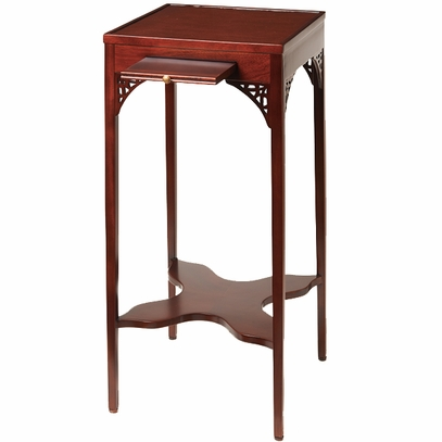 Mahogany Urn Stand Side Table