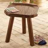 Teak Milking Stool